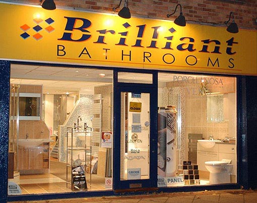 Bathroom Showroom Brilliant Bathrooms Portsmouth Hampshire