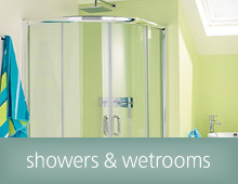 Wet rooms and showers